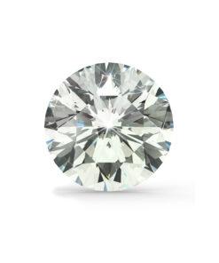 Klar/hvid diamant brilliant round cut